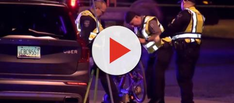Uber suspends self-driving car tests after pedestrian killed Image credit - ANB15 Arizona via CBS Evening News | YouTube