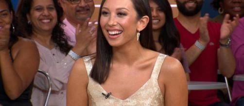 Cheryl Burke explains her big break - screenshot