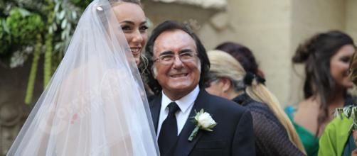 Al Bano e la figlia Cristel Carrisi
