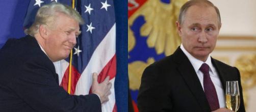 Donald Trump felicita a Vladimir Putin