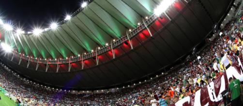 Fluminense pode ser impedido de atuar no Maracanã (Foto: Site oficial da Confederação Brasileira de Futebol)