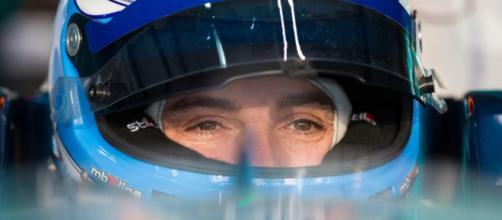 Formula E, Luca Filippi durante un gran premio