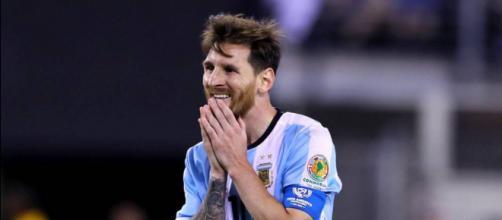 Messi anuncia su adiós a la selección argentina - AS.com - as.com
