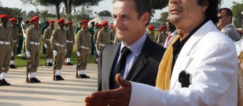 Sarkozy è in stato di fermo per i fondi illeciti dalla Libia.