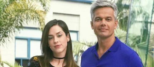 Sophia Abrahão e Otaviano Costa celebram 35 anos de Vídeo Show. Mídia news.