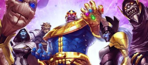 Thanos depende mucho de la orden negra