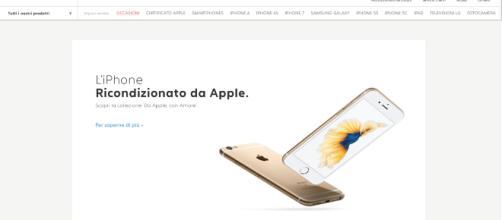 Un iPhone ricondizionato da Apple sul sito di Back Market