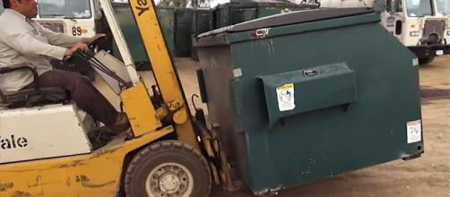 Upcycling dumpsters may be the next big thing in alternative living. [image source: MSNBC/YouTube]