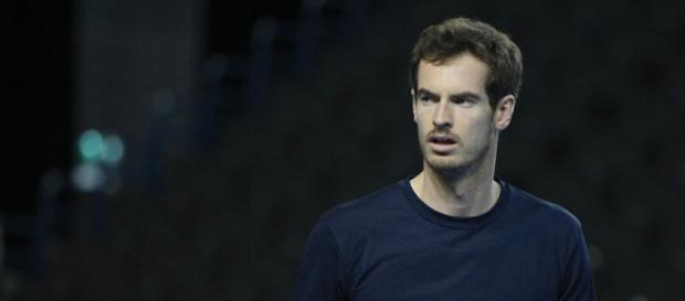 Andy Murray during a Davis Cup action. (image Credit: Marianne Bevis/Flickr)