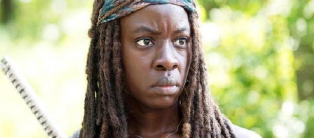 Cómo Danai Gurira hace malabares con sus papeles de Marvel con The Walking Dead