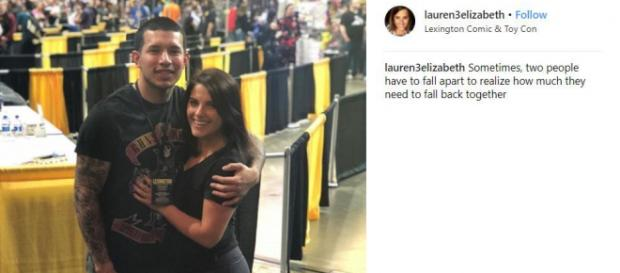 Javi Marroquin attends Comic and Toy Con with Lauren Comeau. [Photo via Lauren/Instagram]