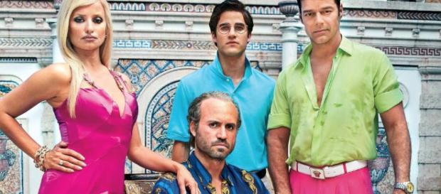 Penélope Cruz, Ricky Martin y Édgar Ramírez posan como Antonio D'amico, Donatella Versace y el propio modisto en American Crime Story