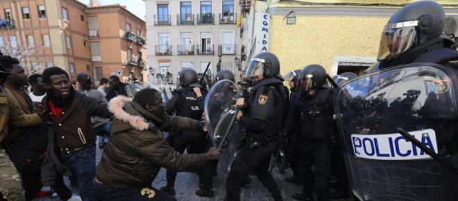 Quien sufrió realmente los disturbios en Lavapiés