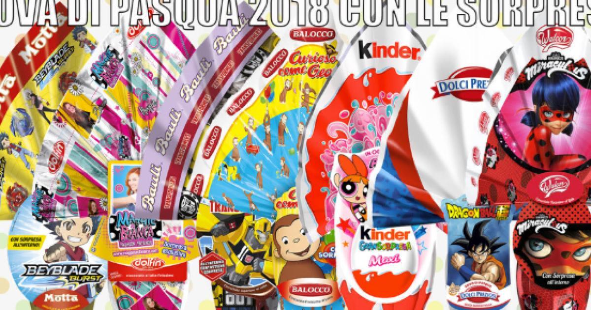 Prezzi Uova Di Pasqua 2018 Confronto Costi Kinder Lindt Bauli