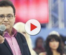 Geraldo Luis recebe viúva de Marcelo Rezende e faz declaração carinhosa