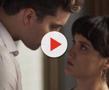 O Outro Lado do Paraíso: Clara abre o coração se declara, mas Patrick a rejeita. (foto reprodução).