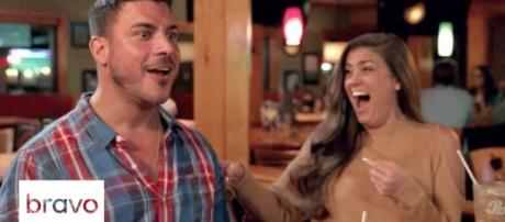 Jax Taylor and Brittany Cartwright appear on 'Vanderpump Rules.' [Photo via Bravo/YouTube]