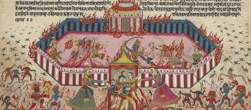 Aamir Khan may be making an epic movie series based on 'The Mahabharata' Image credit - By Nepal, c. 1800 [Public domain], via Wikimedia Commons