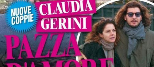 """Claudia Gerini bacia Andrea Preti: """"È pazza d'amore"""" - today.it"""