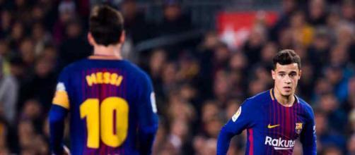Coutinho contou tudo a Leo Messi