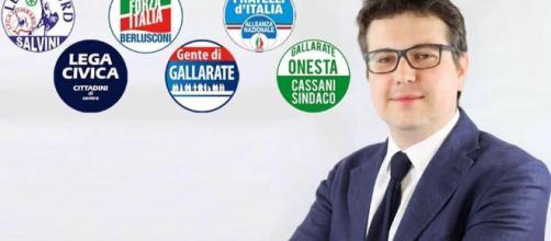 Il manifesto elettorale del sindaco di Gallarate
