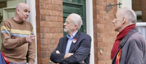 Jeremy Corbyn out electioneering at the 2017 General Election - facebbok