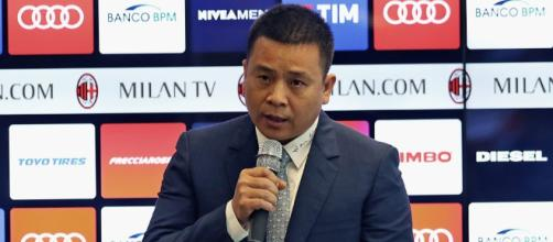 Milan-Inter: Yonghong Li in Italia, il presidente rossonero ... - superscommesse.it