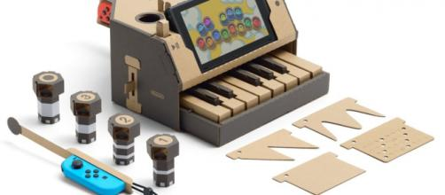 Nintendo Labo armable de piano