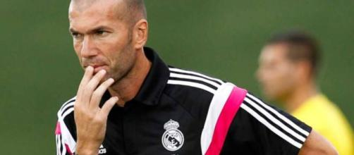 O técnico Zidane analisou o futebol do garoto