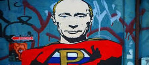 Putin parody at the Ultra Modern Art Museum (UMAM) in Moscow. Flickr.com
