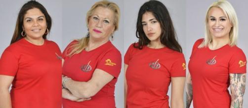 Saray Montoya, Mayte Zaldívar, Isabel Castell y Melissa Vargas, las nominadas.