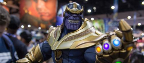 Thanos, the mad tyrant finally takes on the Avengers. [image source:William Tung/Flickr]