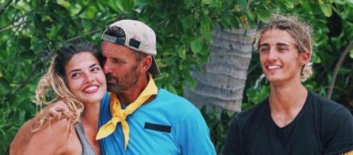 Tiffany, Pascal et Dylan forment l'équipe jaune (source Instagram)