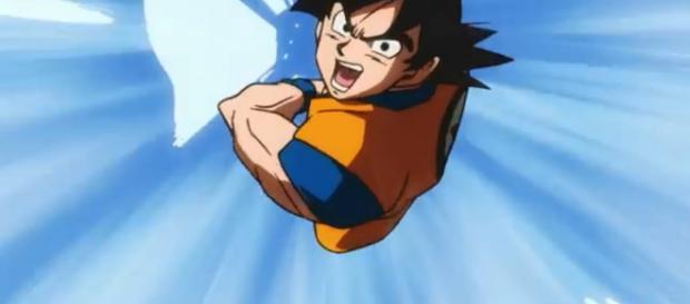 El trailer se presentó con animaciones bastante inusuales en Dragon Ball