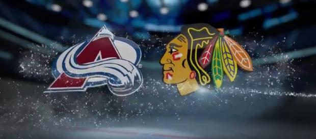 Blackhawks winning streak comes to an end. [image source: NHL National Hockey League/YouTube screenshot]