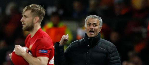 Luke Shaw: Manchester United manager Jose Mourinho blasts left ... - thesun.co.uk