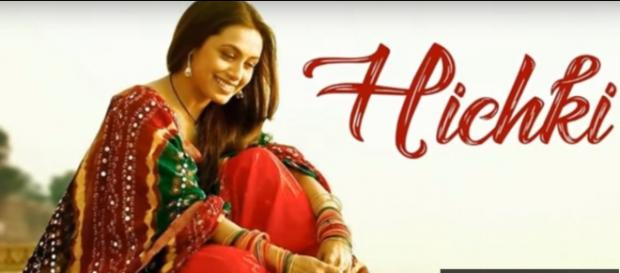 Rani Mukerji in Hichki with Tourette's Syndrome (Image via GEPR.TV/YouTube screencap)