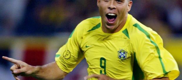 Ronaldo Nazario en el mundial del 2002