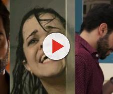 Amaro e Estela transam pela primeira vez em 'O Outro Lado'