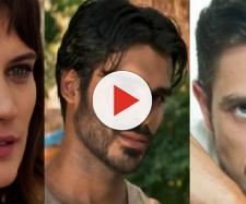 Clara, Xodó e Renato em 'O Outro Lado do Paraíso'