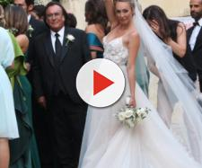Matrimonio italiano. Cristel Carrisi sposa Davor Luksic a Lecce ... - weddings.it