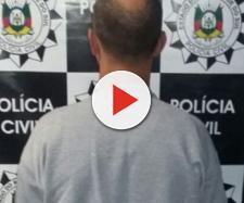 O homem foi preso por estupro de vulnerável e pedofilia