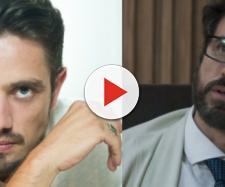Renato é desmascarado por Samuel e perde o emprego em 'O Outro Lado'. (foto reprodução).
