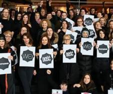 Zwolenniczki aborcji protestują po raz kolejny (Twitter/profil/Gazeta Wyborcza).