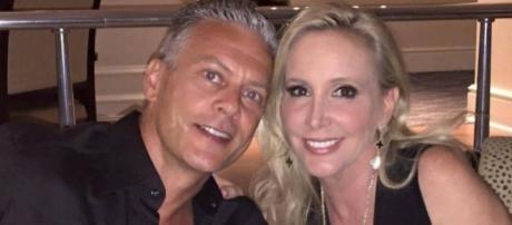 David and Shannon Beador enjoy a date night. - [Photo via Instagram]