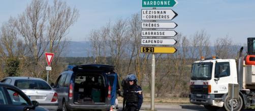 Acto terrorista en la localidad francesa de Trébes