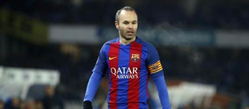 Andres Iniesta está preocupando a torcida do Barcelona