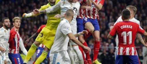 Atlético y Real Madrid es una guerra