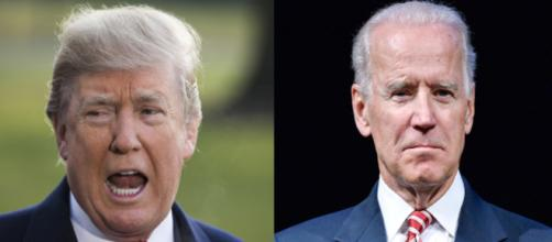 Donald Trump, Joe Biden, via Twitter