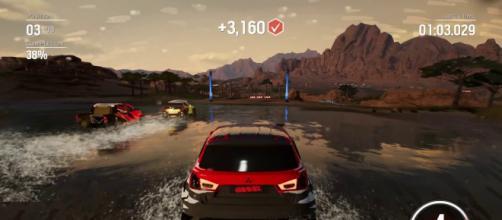 Gravel es un juego de carreras con más de 50 vehículos.